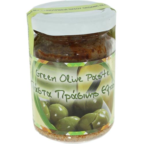 Olivenpaste-grüne-Oliven