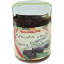 Olivenpaste aus schwarzen Oliven würzig, 145g Glas